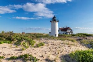 Race Point Lighthouse in Provincetown, MA