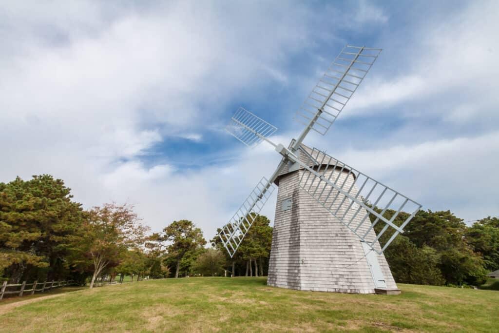 Chatham Windmill, Chase Park, Chatham, Massachusetts, USA