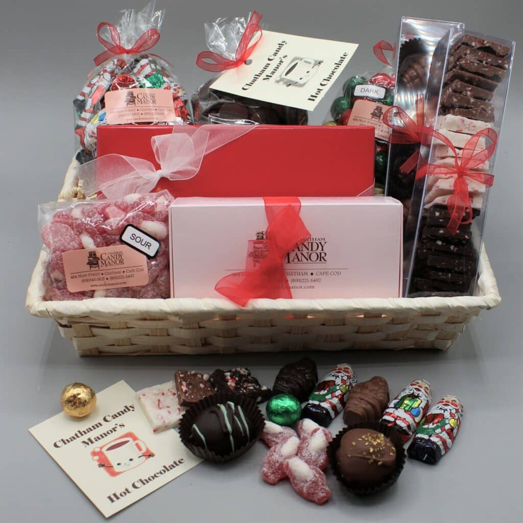 Candy goodie basket