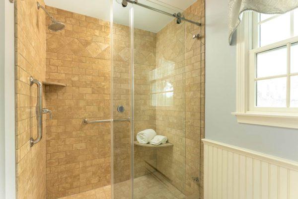 Bathroom room North Beach step in spa shower