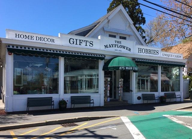 Storefront Mayflower Gift Shop Chatham, MA