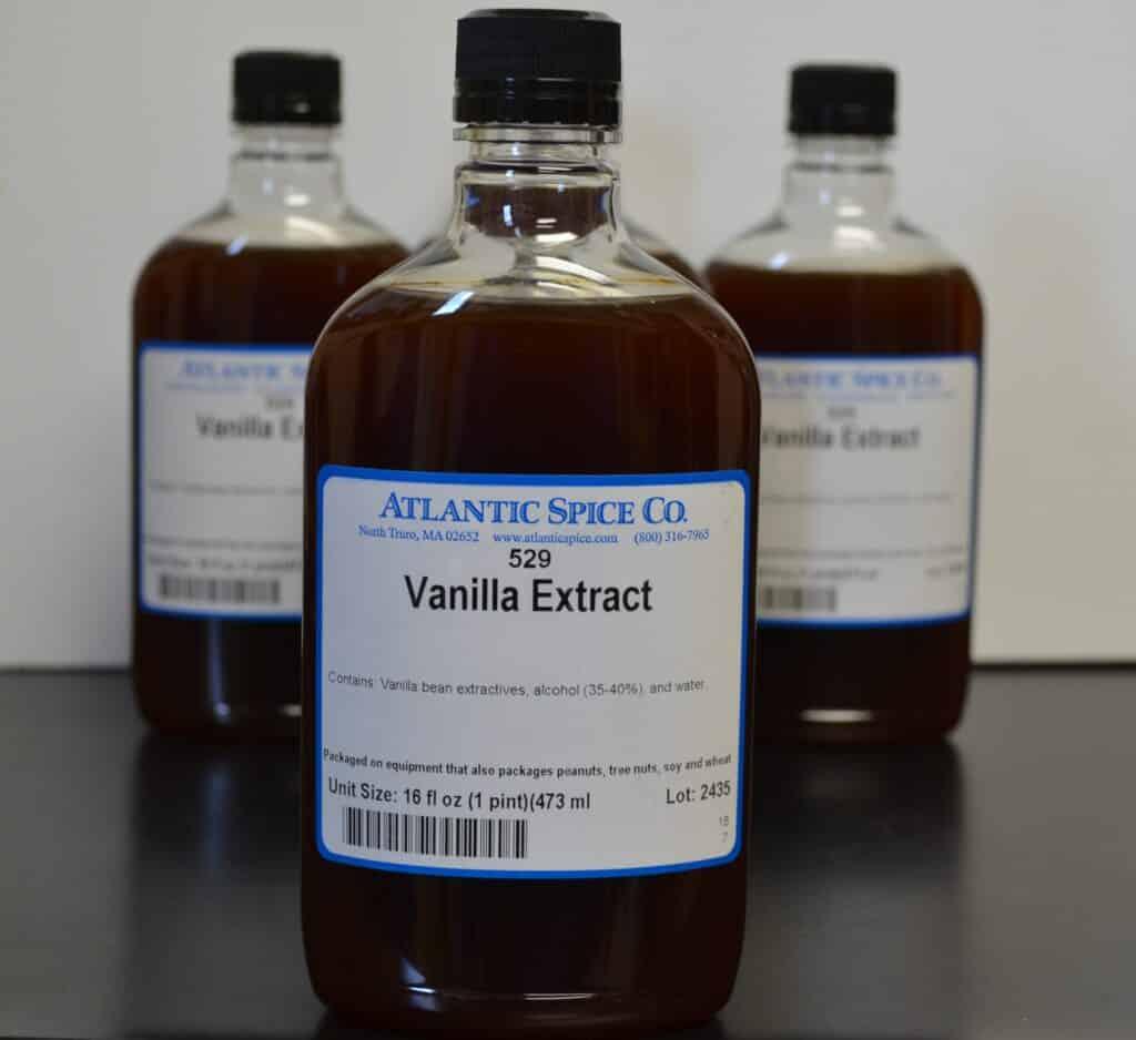 Vanilla Extract in a plastic bottle